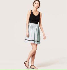 Eyelet Bodice Skirt Dress | Loft - need need need.