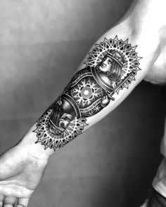 dotwork tattoo death Jack