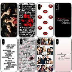 $1.99 - The Vampire Diaries Case For Iphone Apple X 8 7 6 6S Plus 5 5S Se #ebay #Electronics