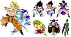 PNG Download: Pacote com 40 Imagens da Série Dragon Ball no formato PNG (com fundo transparente) em alta definição