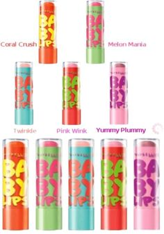 """""""Baby Lips Flavors"""" by metchat17 ❤ liked on Polyvore"""