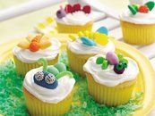 Bug Birthday Party Cupcakes