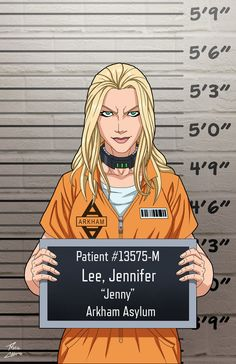 Jenny Lee (Earth-27) locked up commission by phil-cho