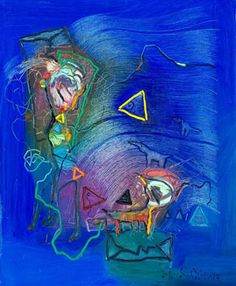 From Walter Wickiser Gallery, Soile Yli-Mäyry, Captured Letter Oil on Canvas, 34 × 28 in Surrealism, Oil On Canvas, Diy And Crafts, Artsy, Paul Klee, Lettering, Olsen, Gallery, Artwork