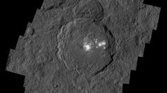 Dawn mission scientists have unveiled new images from the spacecraft's lowest orbit at Ceres, including the mysterious bright spots in Occator Crater.