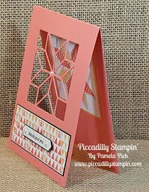 Piccadilly Stampin': Quilting with Paper
