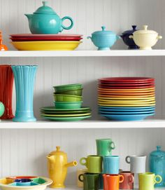 5. Relish TrayShowcasing all five original Fiesta colors, plus turquoise, this server is a collectors' favorite. A complete set, which consists of the outer tray and five inserts, nets about $500. Single inserts go for around $80. 6. Flower VasesThese vessels were sold in three heights—8, 10, and 12 inches—as part of the original product lineup. Red and turquoise ommand the highest prices; these 10-inchers garner estimates of $1,200 each. 7. Demitasse CoffeepotThis distinctive item was…