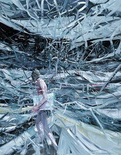 JIA AILI http://www.widewalls.ch/artist/jia-aili/ #JiaAili #contemporaryart #paintings