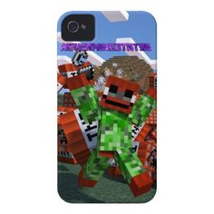 make your own phone case! i made mine based on my minecraft
