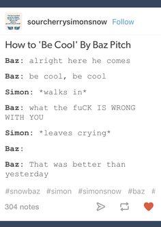 Oh Baz.<<< My poor cinnamon bacon bun