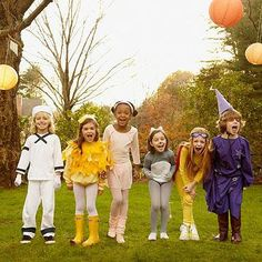 "<p>Invite the neighborhood kids over for a pre-trick-or-treating <a href=""http://www.parents.com/holiday/halloween/"" >Halloween</a> bash! Encourage the kids to come dressed in their costume so they can head out to go collect their candy together!</p>"