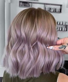 Beautiful Lavender Hair Color Shades for Ladies in can find Lavender hair and more on our website.Beautiful Lavender Hair Color Shades for Ladies in 2019 Hair Color Shades, Hair Color Purple, Metallic Hair Color, Spring Hair Colors, Purple Hair Streaks, Lavender Hair Colors, Ombre Hair Lavender, Lavender Highlights, Spring Hairstyles