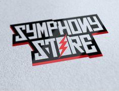 Logo para tienda de articulos de rock