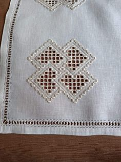 Drawn Thread, Hardanger Embroidery, Bargello, Doilies, Elsa, Pattern, Inspiration, Straight Stitch, Made By Hands
