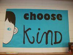 choose kind bulletin board