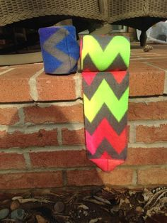 Canter Couture's Rainbow Chevron $11.50/pair or $20.50/set