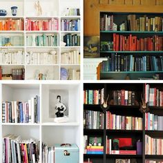 Weekend Project: Organize Your Books — Apartment Therapy Video Roundup