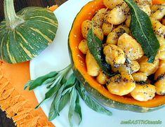meGASTROmania: SÜTŐTÖKÖS GNOCCHI / ÑOQUIS DE CALABAZA Gnocchi, Cantaloupe, Shrimp, Meat, Fruit, Food, Pumpkin Gnocchi, Beef, The Fruit