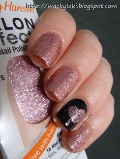 I love those Salon Effects nail polish strips....