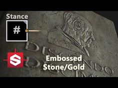 (35) Embossed Rock / Gold - Substance Designer Material Breakdown - YouTube