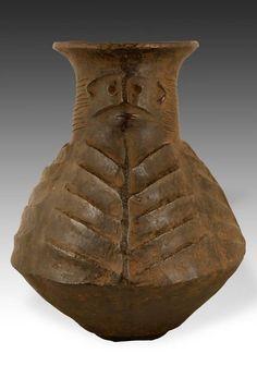 Africa | Vessel from the Baganda people of Uganda | Terracotta | 20th century