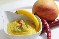 Pastinaken-Curry-Mango-Suppe vegan
