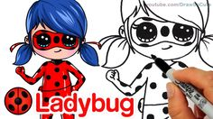 How to Draw Miraculous Ladybug step by step Chibi