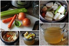 Did you know you can make vegetable stock in the pressure cooker in minutes for a fraction of the cost of buying canned stock? Digital Pressure Cooker, Pressure Cooking Today, Slow Cooker Pressure Cooker, Pressure Cooking Recipes, Using A Pressure Cooker, Instant Pot Pressure Cooker, Rice Cooker, Marmite, Cooker Recipes
