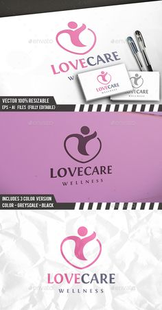 Heart Care Logo — Vector EPS #protection #charity • Available here → https://graphicriver.net/item/heart-care-logo/14145227?ref=pxcr