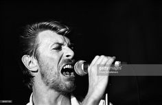 David Bowie performs live with Tin Machine at Paradiso in Amsterdam, Netherlands on June 24 1989