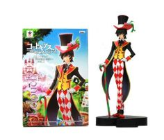 """Code Geass: Lelouch of the Rebellion R2 DX Figure in Wonderland Vol. 1 ~ 7"""" Lelouch Lamperouge by Banpresto. $26.99. Limited Quantity. Size Approx. 16 cm tall. Official Licensed Figure Imported From Banpresto Japan. High Quality PVC Figure. Lelouch vi Britannia is the protagonist and antihero of Code Geass: Lelouch of the Rebellion and Code Geass: Lelouch of the Rebellion R2, 17 years old (18 at R2). After he was exiled he used the alias, Lelouch Lamperouge. H..."""