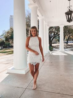 Confirmation Dresses, Cute White Dress, Graduation Dresses, Graduation Ideas, The Dress, Pretty Dresses, What's Trending, Dress Summer, Summer Outfits