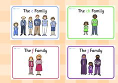 Twinkl Resources >> Sound Families Display Posters >> Printable resources for Primary, EYFS, KS1 and SEN.  Thousands of classroom displays and teaching aids! Literacy, English, Sounds, Letters, Posters