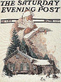 Saturday Evening Post cover (1924) by Norman Rockwell