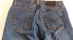 #Harley Davidson #90s Jeans Womens SZ 12 Fits 8 Boot http://etsy.me/1QdSeel #etsy #vintage #tgif 1900sVintage.com