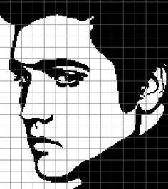 Elvis Crochet Graph/Chart Pattern