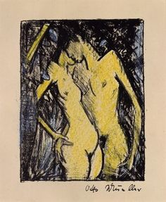 Otto Mueller, 'Stehendes Liebespaar - klein,' 1919, Galerie Thomas