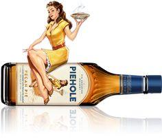 Sweet Peggy on Pecan Pie Bottle Piehole Whiskey