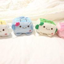 Tofu Plush Holders