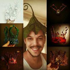 me and my crowns .-) handmade by karel veprik