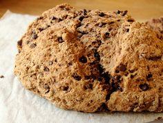 Chocolate Chocolate Chip Irish Soda Bread