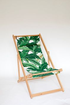 Tahiti Deck Chair outdoor furniture by gallantandjones on Etsy, $280.00