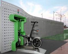 Maquina expendedora de bicicletas