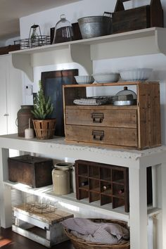 rustic and reclaimed