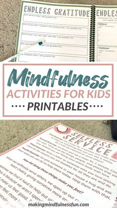 Mindful Activities For Kids, Lessons For Kids, Mindfulness For Kids, Mindfulness Activities, Journal Prompts For Kids, All About Mom, Dance Camp, Yoga For Kids, Learning To Be