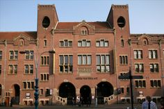 Beurs van Berlage — The Beurs van Berlage is a building on the Damrak, in the center of Amsterdam. It was designed as a commodity exchange by architect Hendrik Petrus Berlage and constructed between 1896 and 1903. It influenced many modernist architects, in particular functionalists and the Amsterdam School. It is now used as a conference venue.
