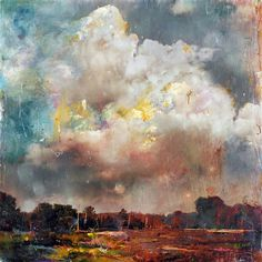 """archatlas: """"  Stev'nn Hall A small sampling of the impressionistic mixed media landscapes by Stev'nn Hall you will find on his tumblr and website. Check out this tumblr! """""""