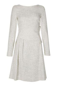 Winter White Tweed. Swoon.