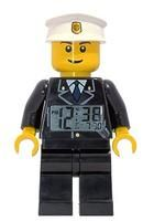 LEGO City Mini Figure Clock - Policeman