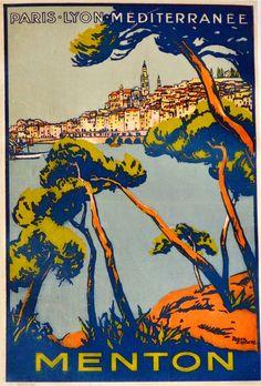 ART & ARTISTS: Vintage Travel Posters - part 2 / Artwork: Roger Broders